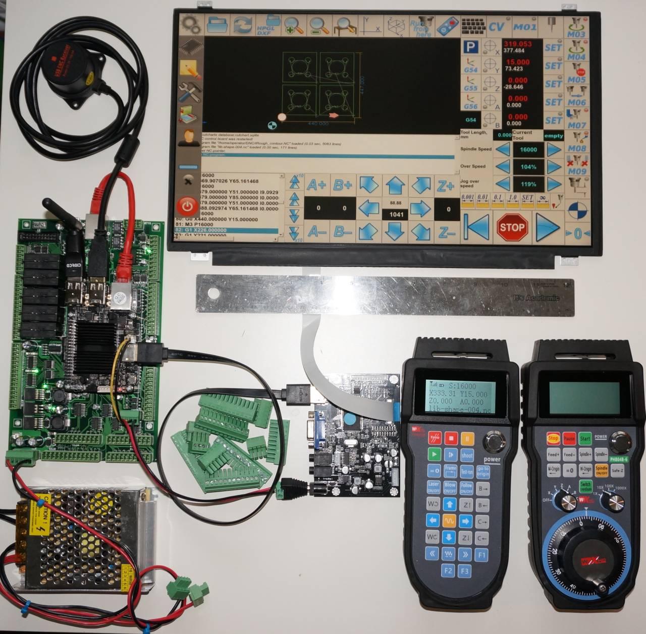 myCNC - advanced CNC control, software - Ethernet CNC