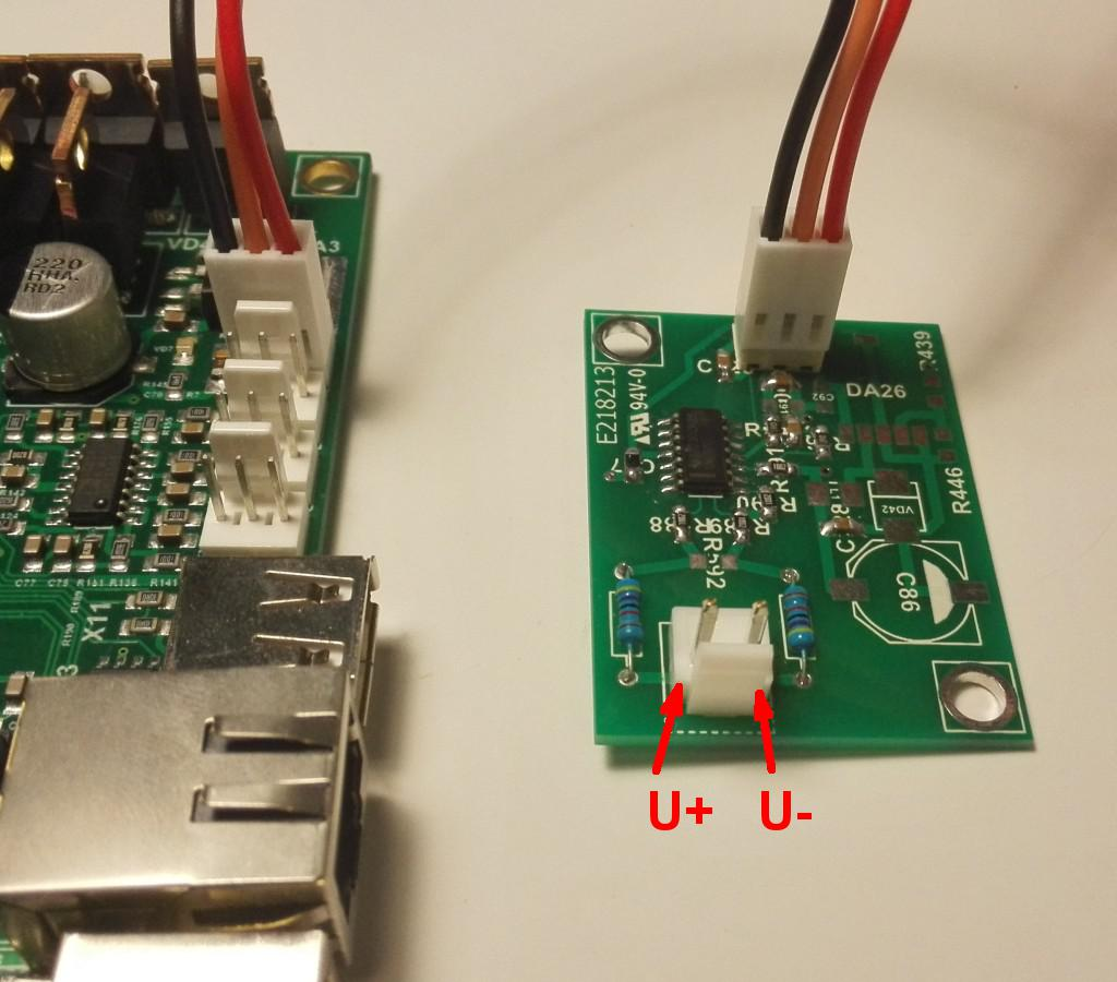 Connection THC addon to CNC Ethernet ET1 controller