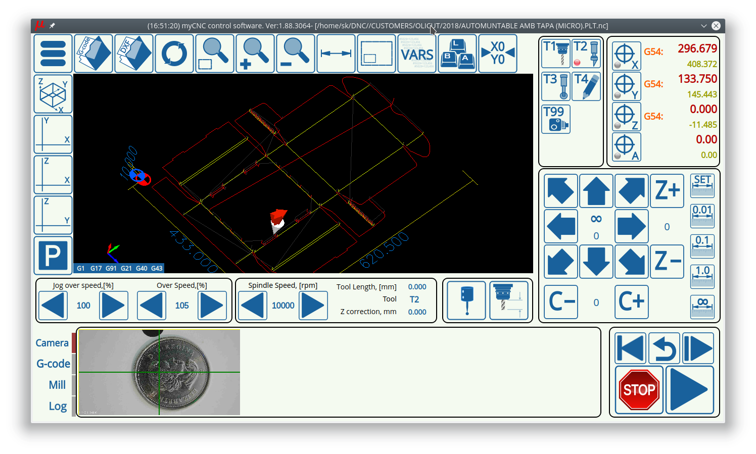 myCNC - advanced CNC control, software - Download