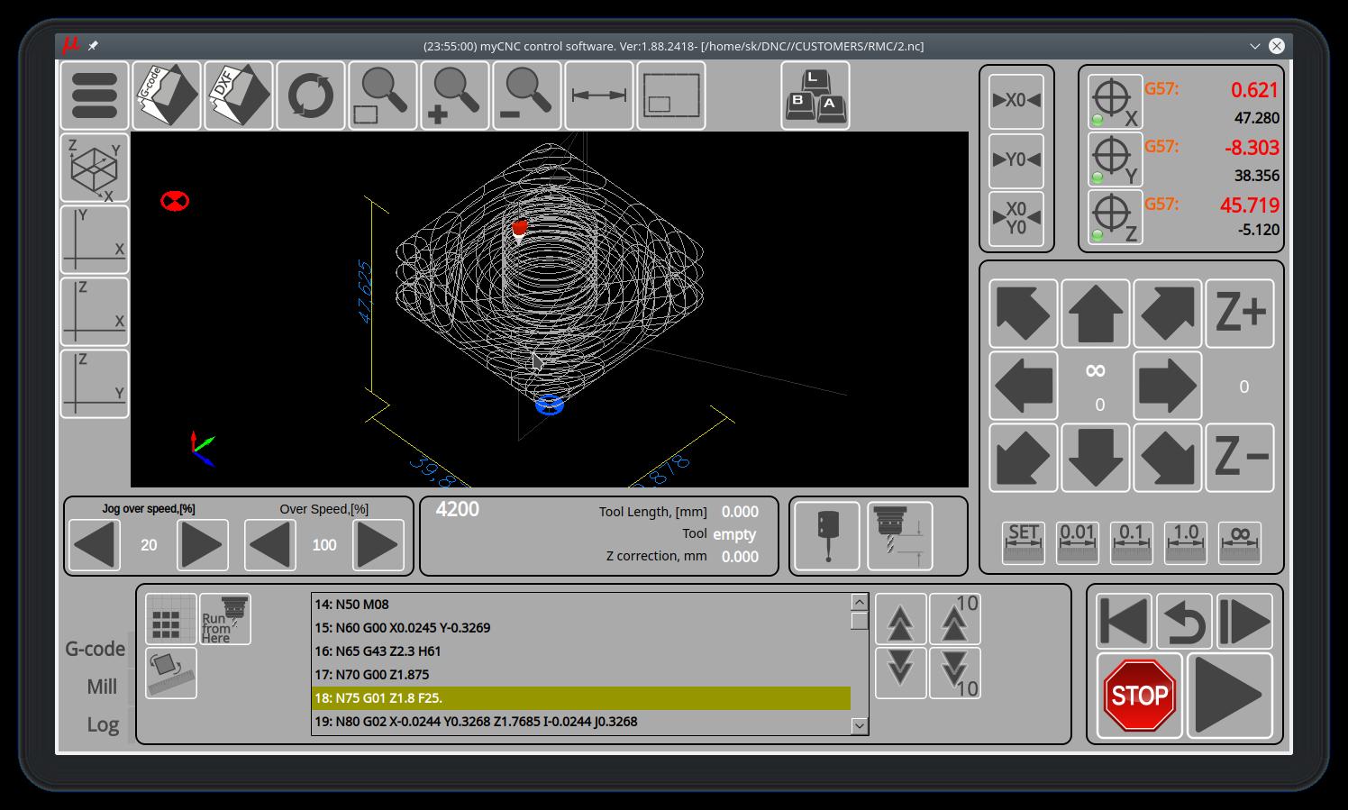 myCNC - advanced CNC control, software - Download