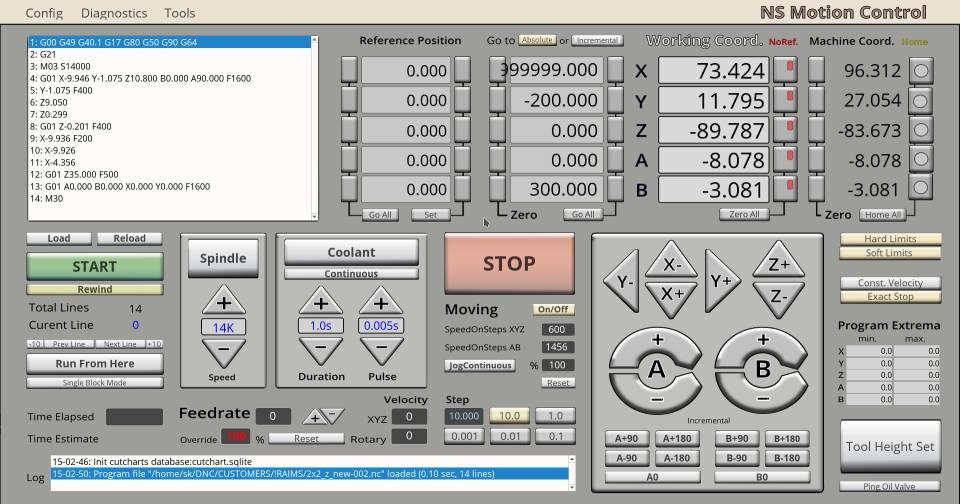 myCNC - advanced CNC control, software - Plasma/Gas Cutting
